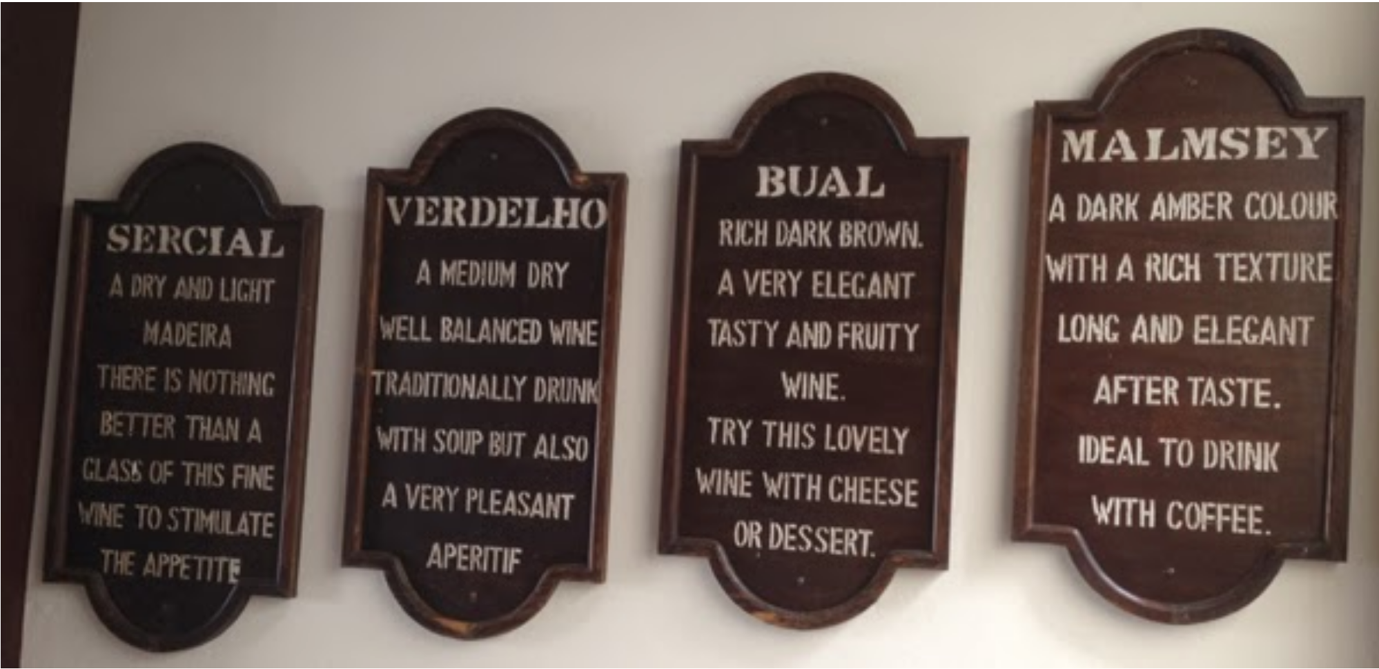 """Blandy's helpful explanation of the four """"noble"""" grape styles"""