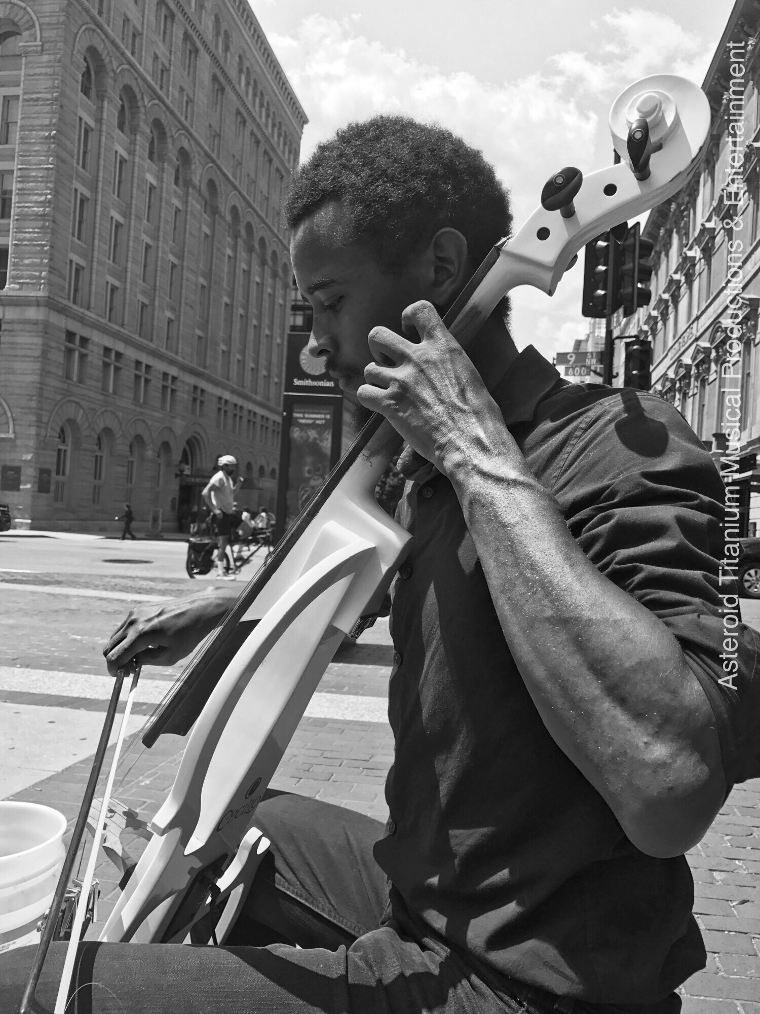 Benjamin Being A Musician For The People. (Busking)