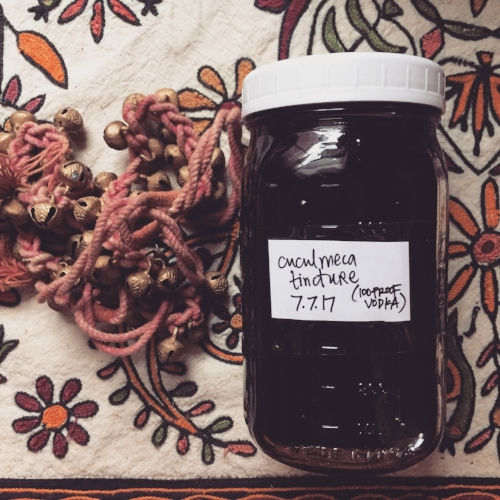 cuculmeca tincture - cuculmeca is a root herb related to Sarsaparilla and is also known as China root. grown and harvested by BriBri farmers in the Talamanca region of Costa Rica.it takes a loooong time to mature (up to 40 years). so we use it mindfully.it support us with: anemia (blood builder), blood cleansing, digestion, inflammation, balancing immune system, nerve pain, aiding absorption, skin conditions (eczema and psoriasis), protecting the liver, and mercury poisoning.$10 per 1 oz bottle$20 per 2 oz bottle
