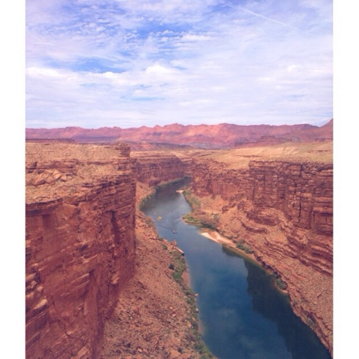 the marble canyon in arizona. photo by my dear friend jess epsten, reposted with permission.