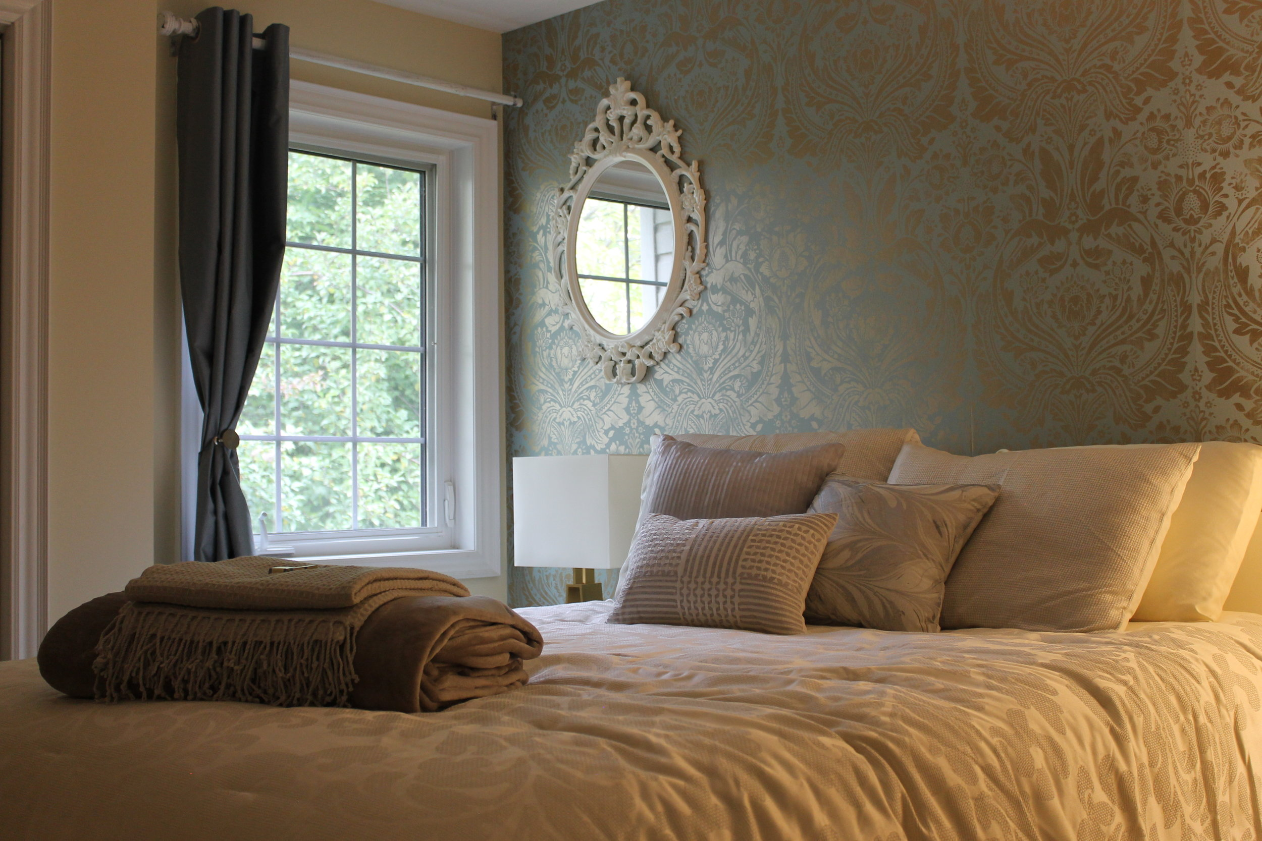 Chardonnay Room  Starting at $165 per night double occupancy