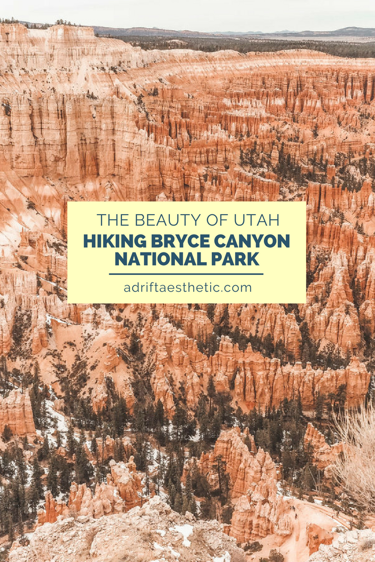 The red rock formations and hoodoos of Bryce Canyon National Park are unlike anything you've seen. Spend the day hiking and exploring this gorgeous spot in Utah. #brycecanyon #nationalpark #utah #hiking