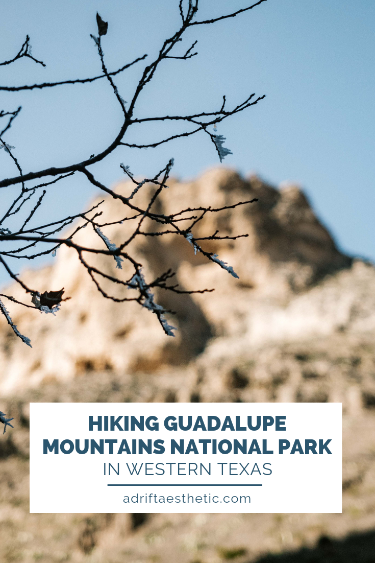 If you're looking for amazing treks in the Southwest, you need to be hiking in Guadalupe Mountains National Park. Which a wide range of trail difficulties, it is one of two National Parks in Texas. Explore the best hikes in Guadalupe Mountains National Park including my favorite, the Devil's Hall Trail. #texas #hiking #travel