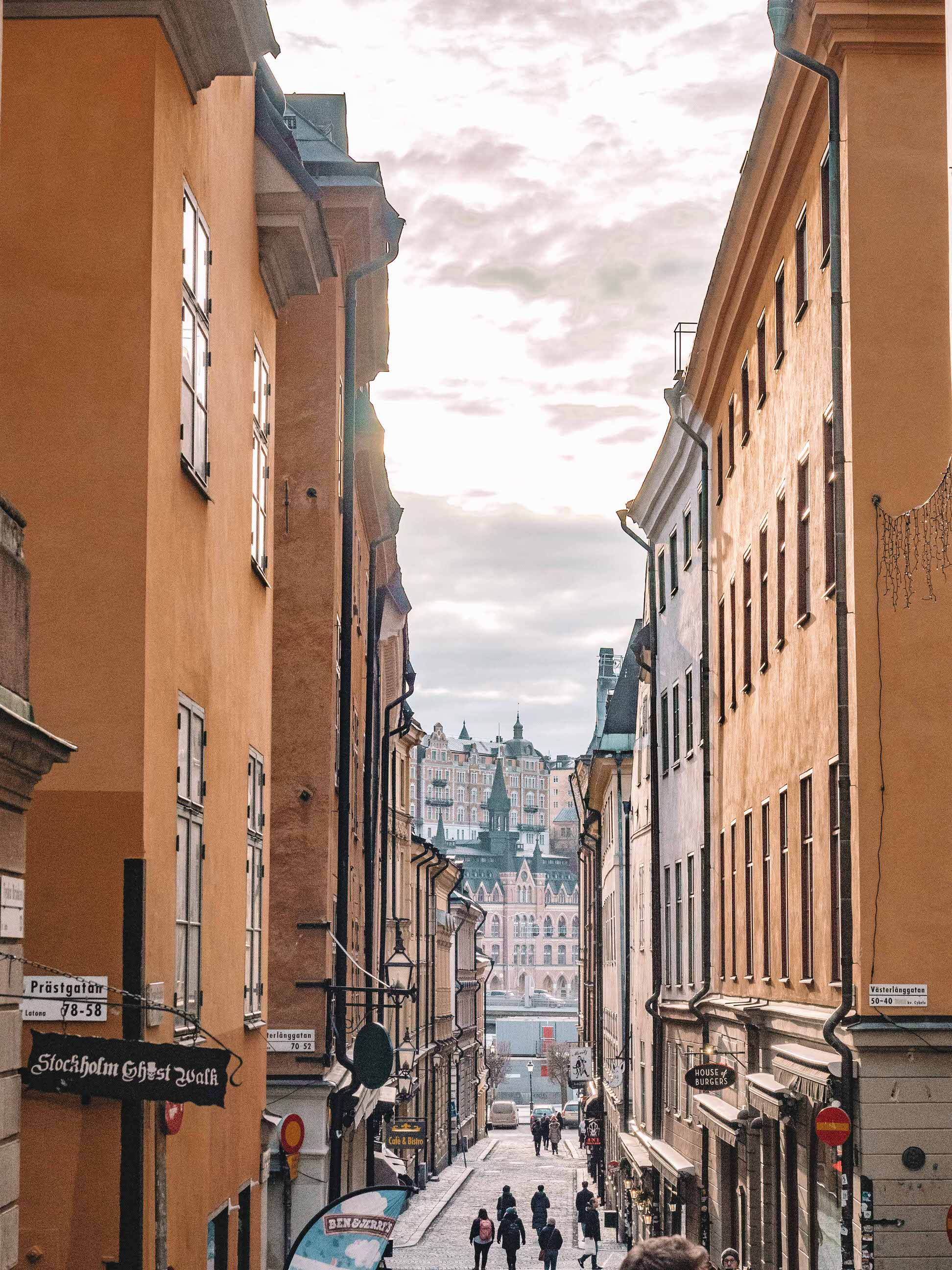If you only have one day in Stockholm, you might be overwhelmed by all the things to see and do. Gamla Stan, Stockholm's Old Town, is the best part of the city, home to rich history, architecture, so much food and the Royal Palace! Make sure you make time to wander through the winding cobblestone streets to experience all that Gamla Stan has to offer. #sweden #travel #europe
