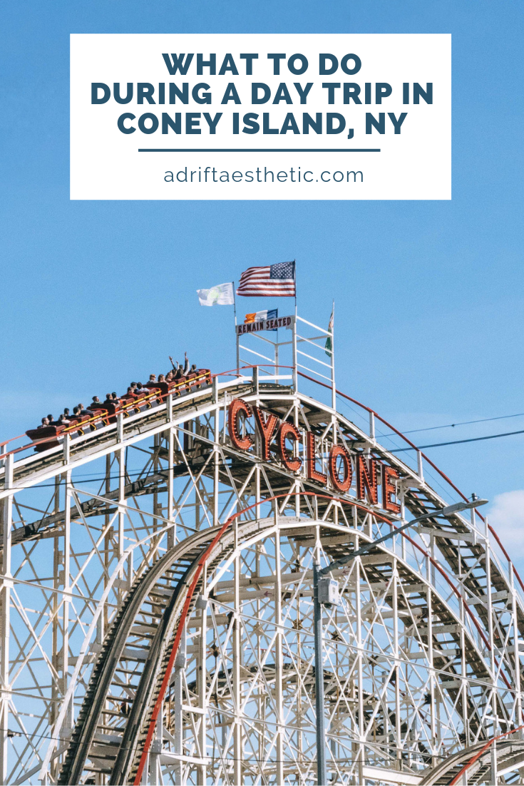 A Coney Island day trip is the perfect way to get out of the hustle bustle of New York City. Easily accessible by train, this spot in the south of Brooklyn will make all your childhood dreams of carnival rides and corn dogs come true. Learn what to see in Coney Island before you add it to your next New York City travel itinerary! #traveldestinations #newyorkcity #coneyisland