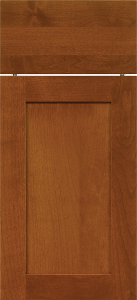 1900 Clear Alder with Cinnamon Stain