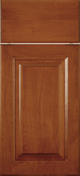 Royal Clear Alder with Cinnamon stain