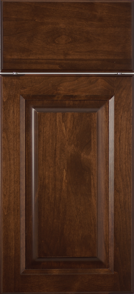 Royal Clear Alder with Espresso Stain