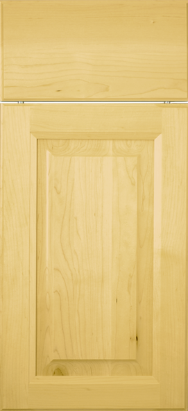 Royal Maple with Natural stain