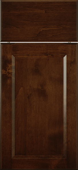 Clear Alder with Espresso Stain