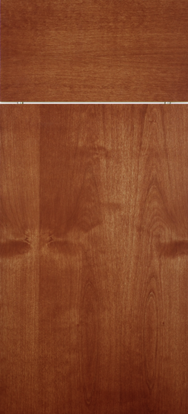 Clear Alder with Cinnamon Stain