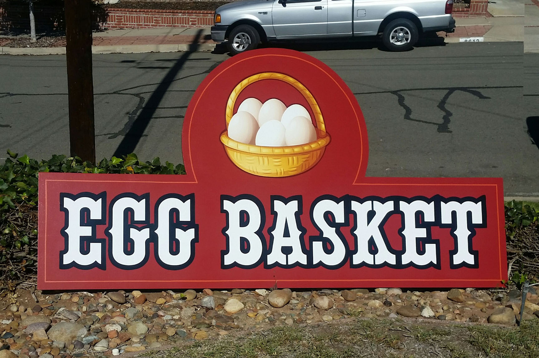 This is for their roadside egg store on Hwy 78 near Ramona