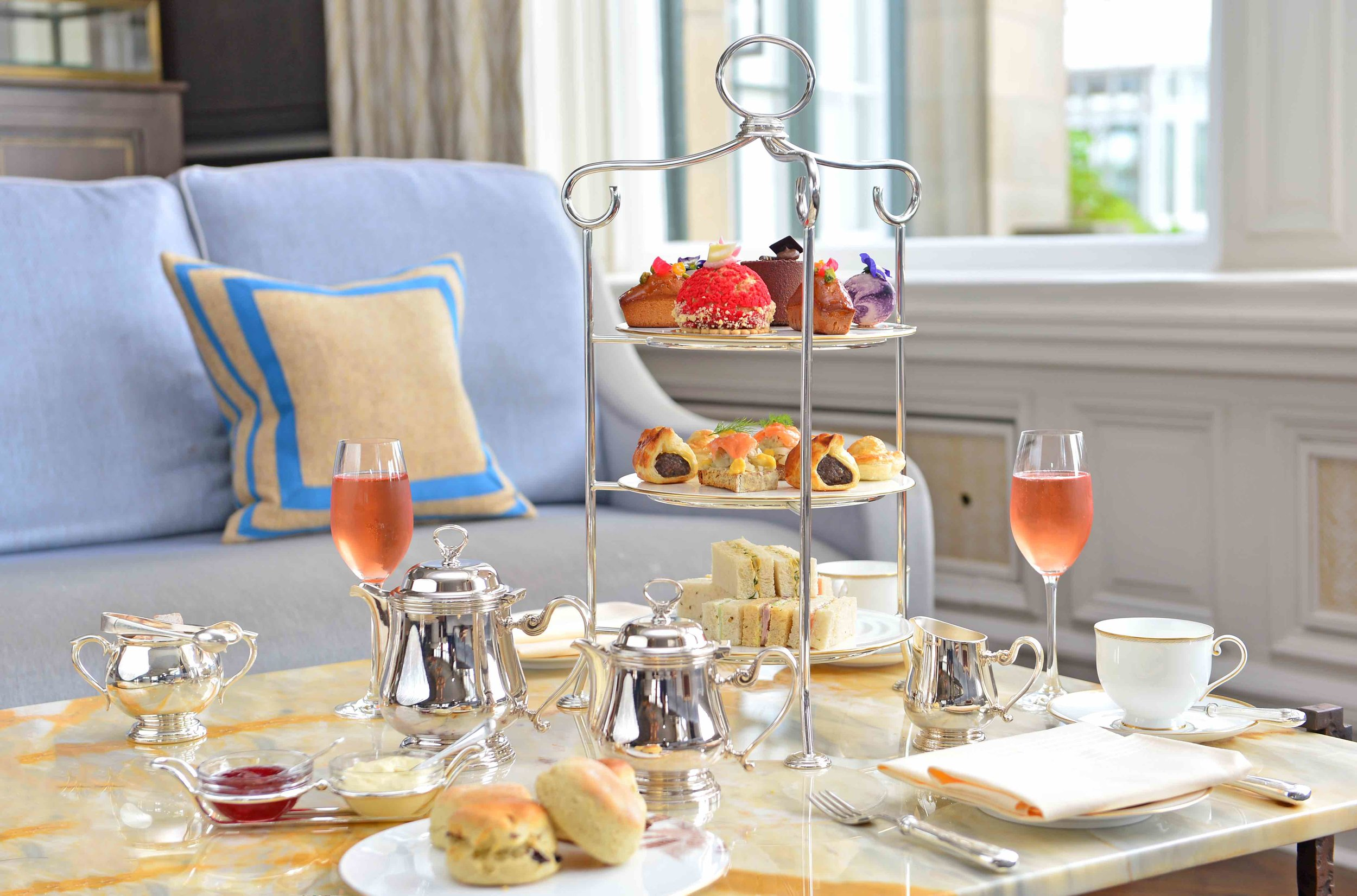 Free champagne with Afternoon tea -