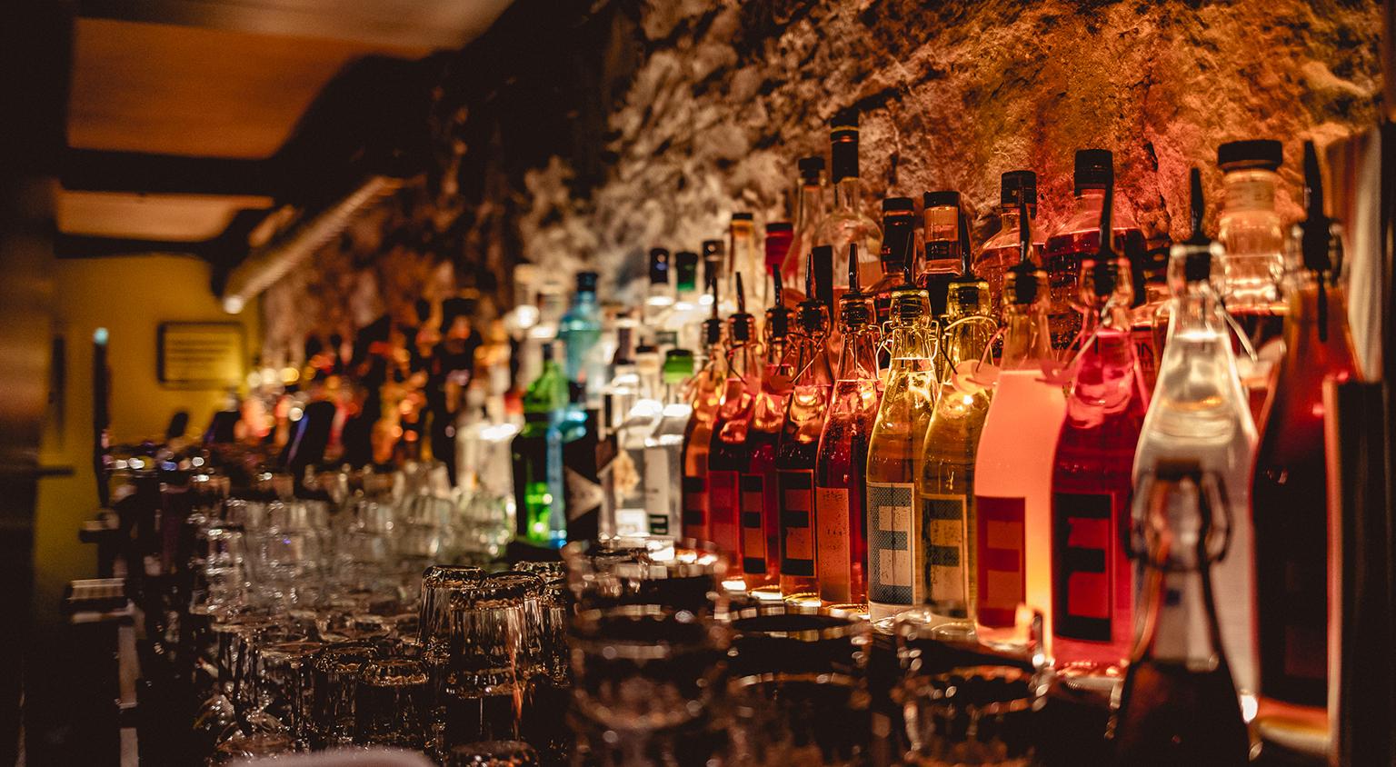 15% off drinks -