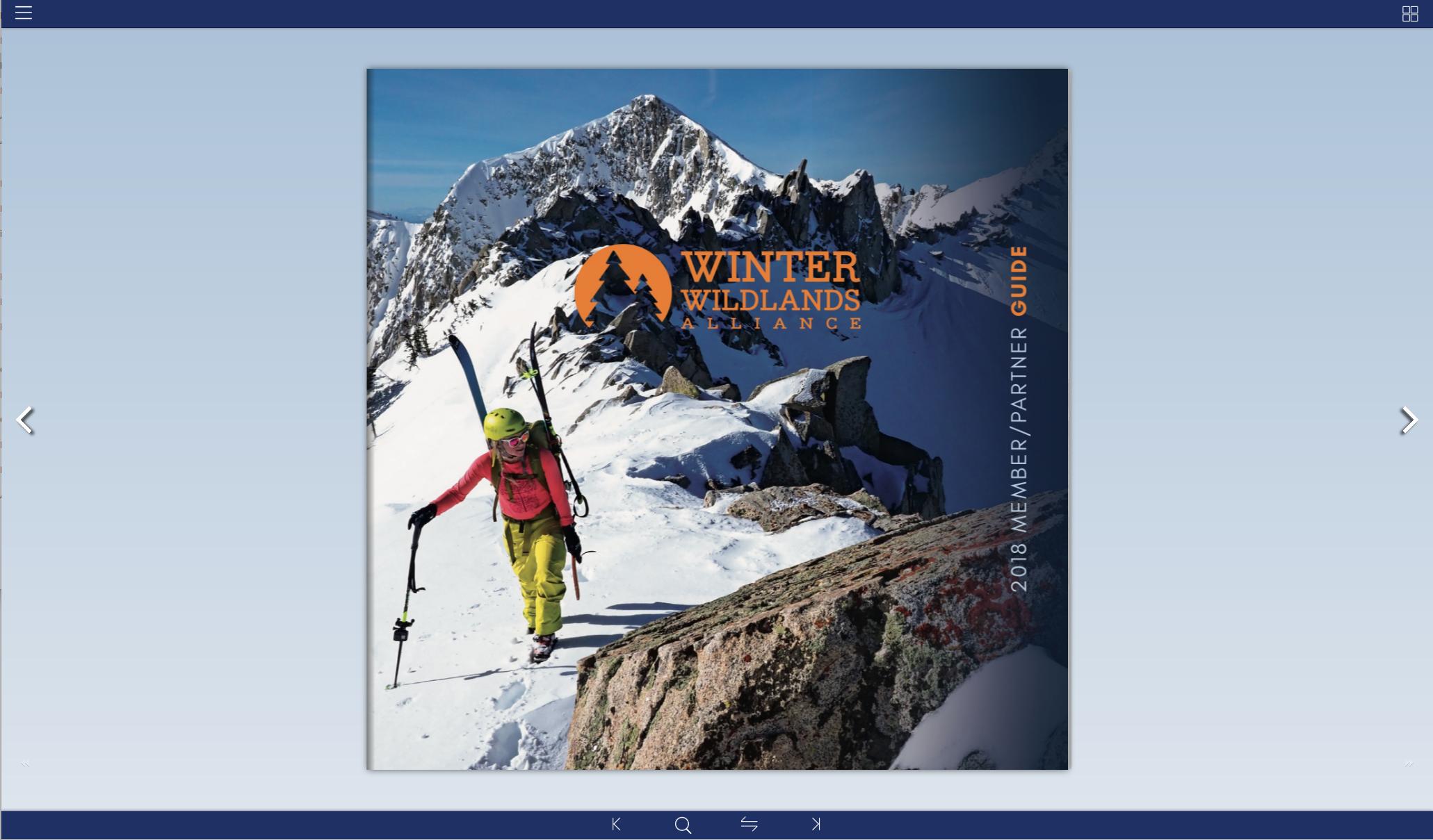 FlipBook Winter Wildlands Alliance