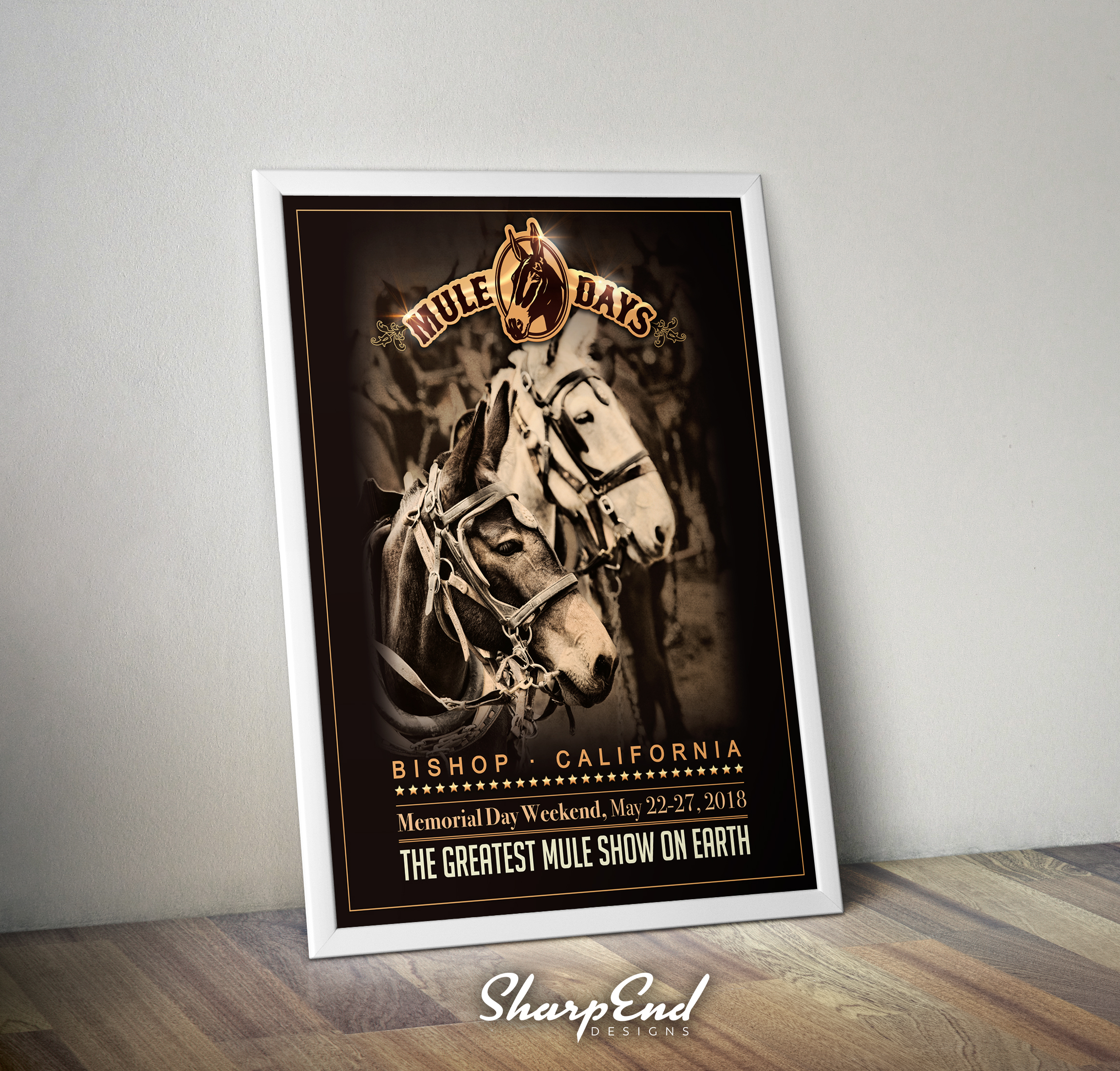 Mule Days Poster Design
