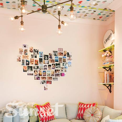 Sunset Magazine, Fletcher Rhodes, Interior Design, San Francisco Showcase House, Teen Bedroom, Photo Display