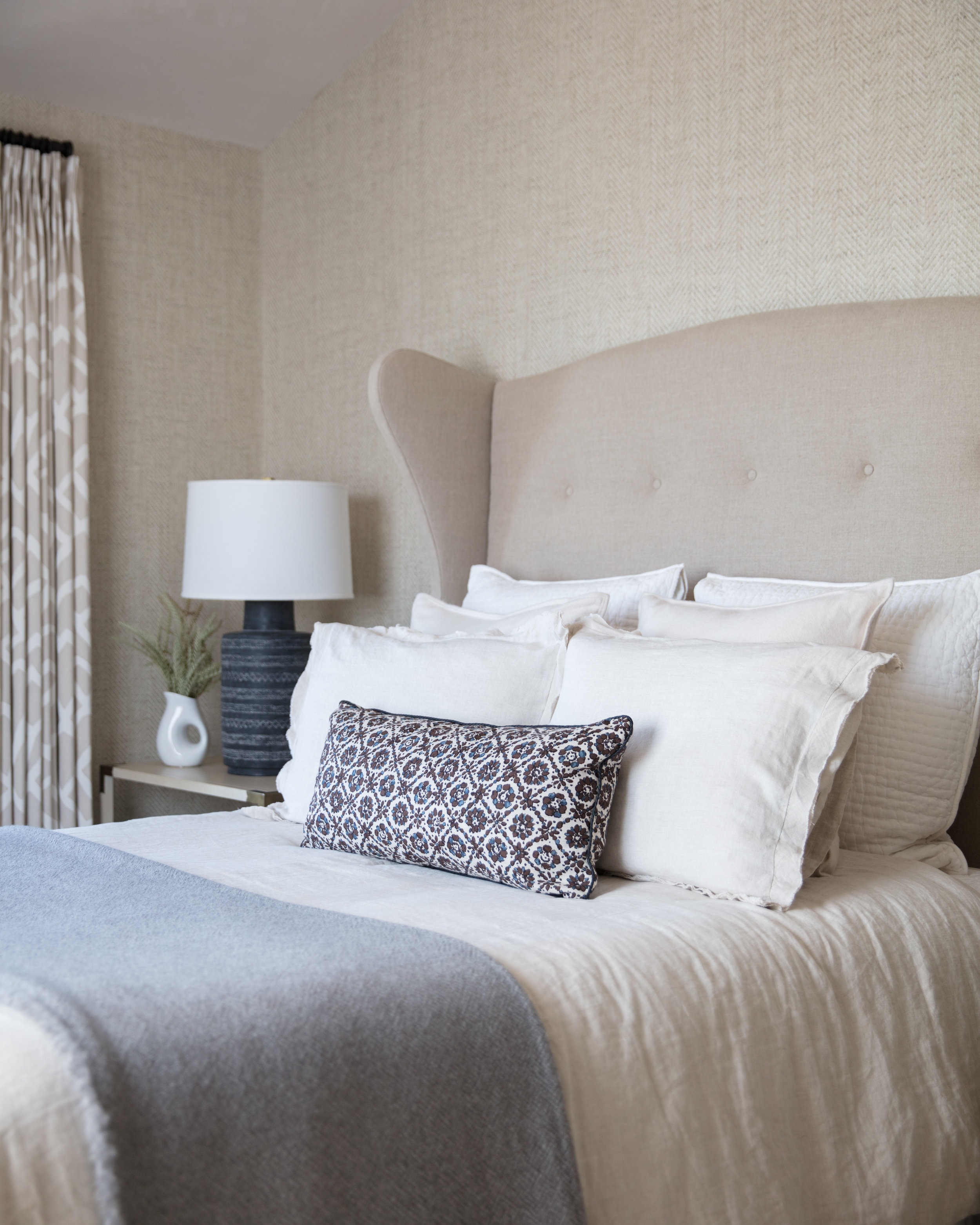 Fletcher Rhodes Interior Design, Guest Bedroom, Sonoma Ranch House, Interiors, Wine Country, Wine Country Style