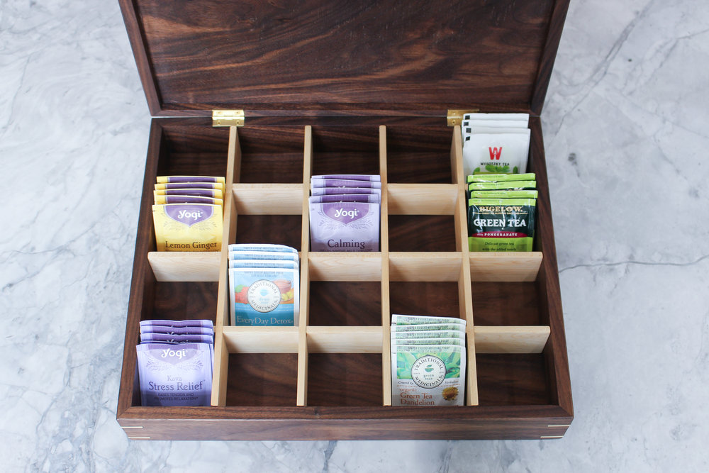 Tea Box — 3x3 Custom