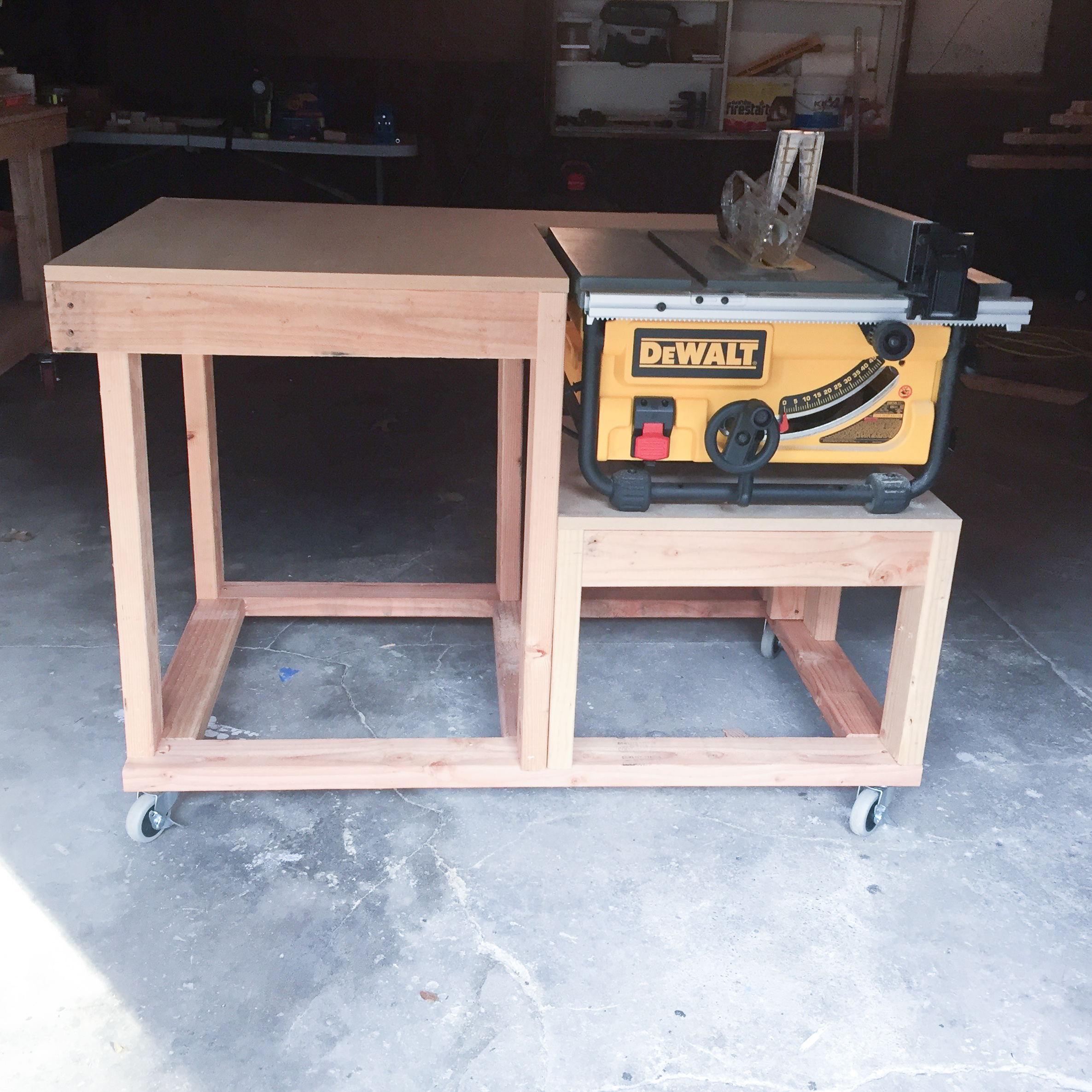 Table Saw Extension 3x3 Custom
