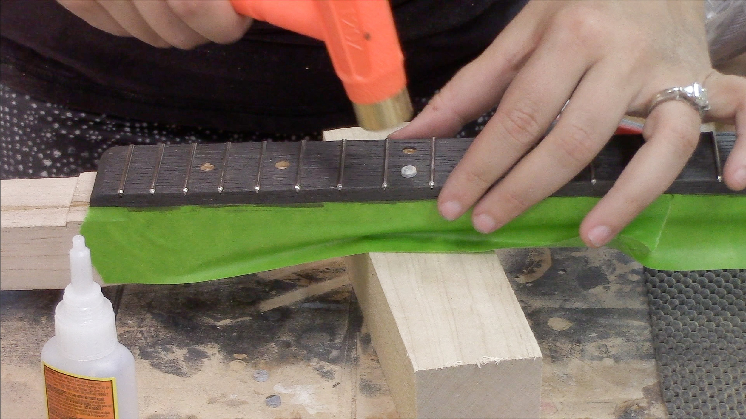 3x3 Custom DIY Three String Guitar
