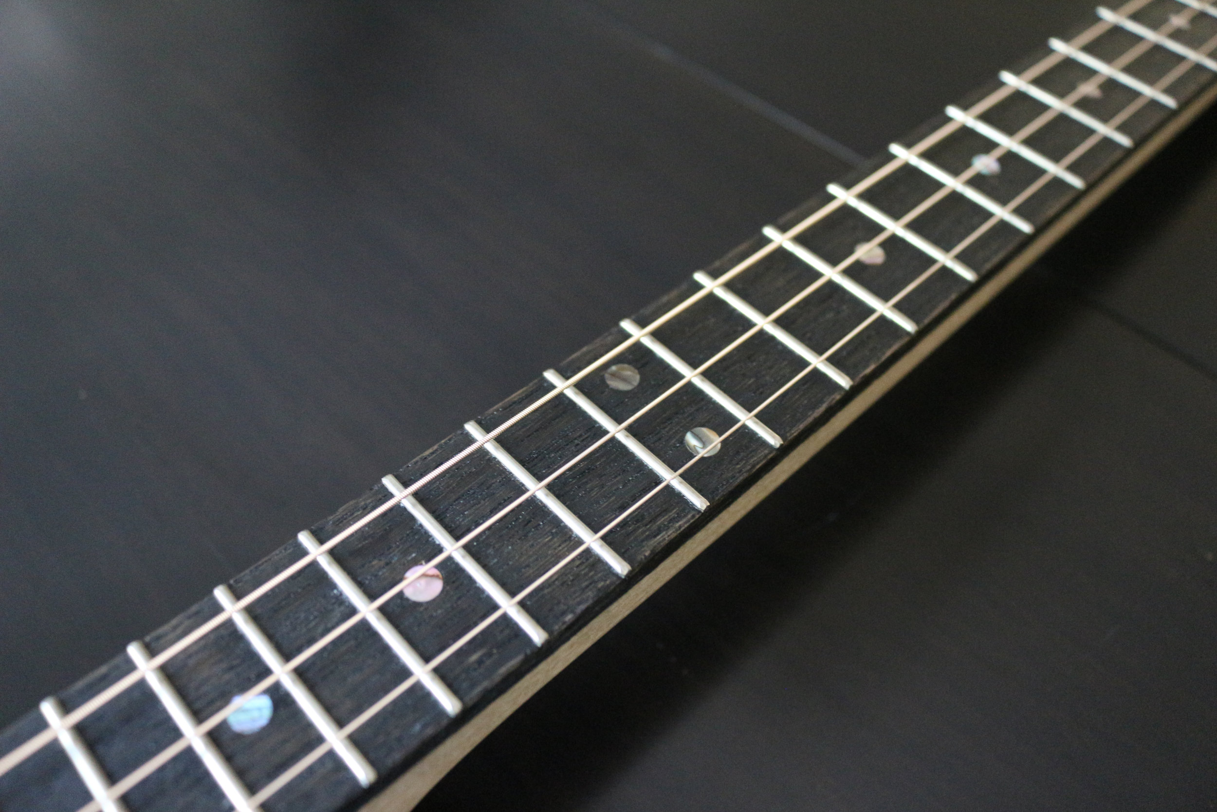 3x3 Custom Three String Guitar