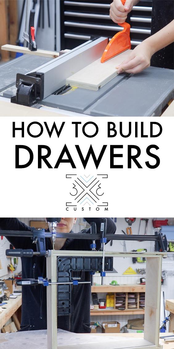3x3 Custom How to Build Drawers