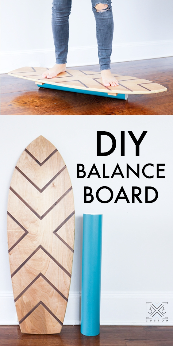 3x3 Custom DIY Balance Board