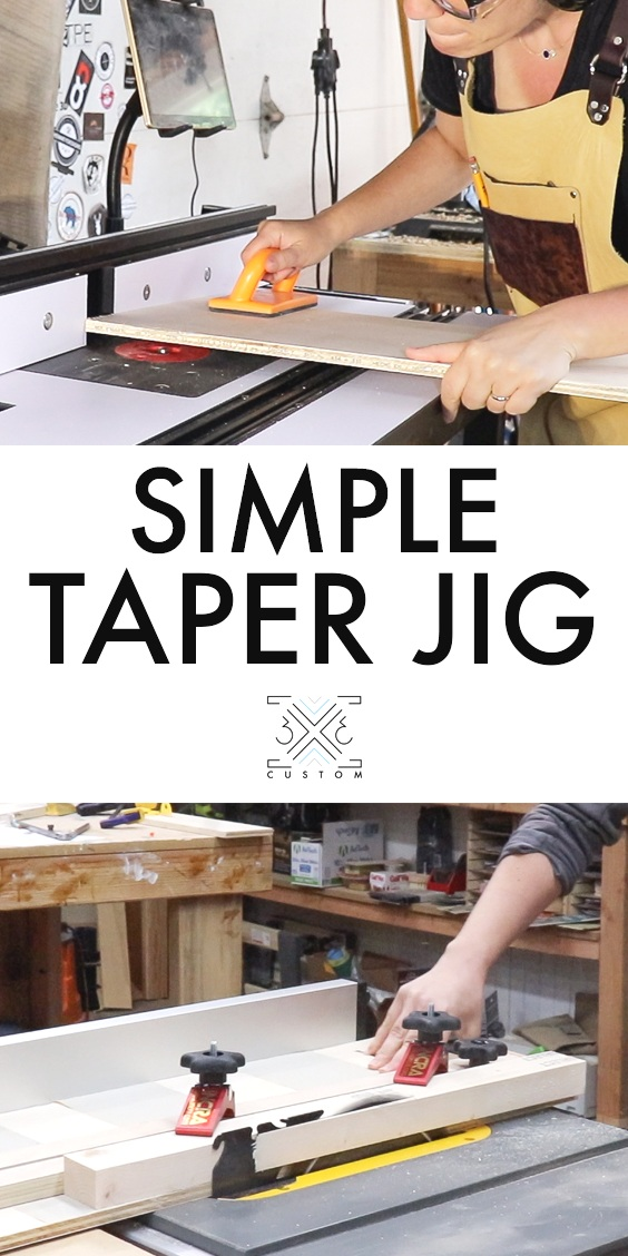 Easy Taper Jig or Jointer Jig