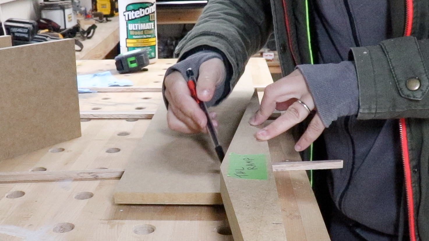 Dovetail Table Saw Jig