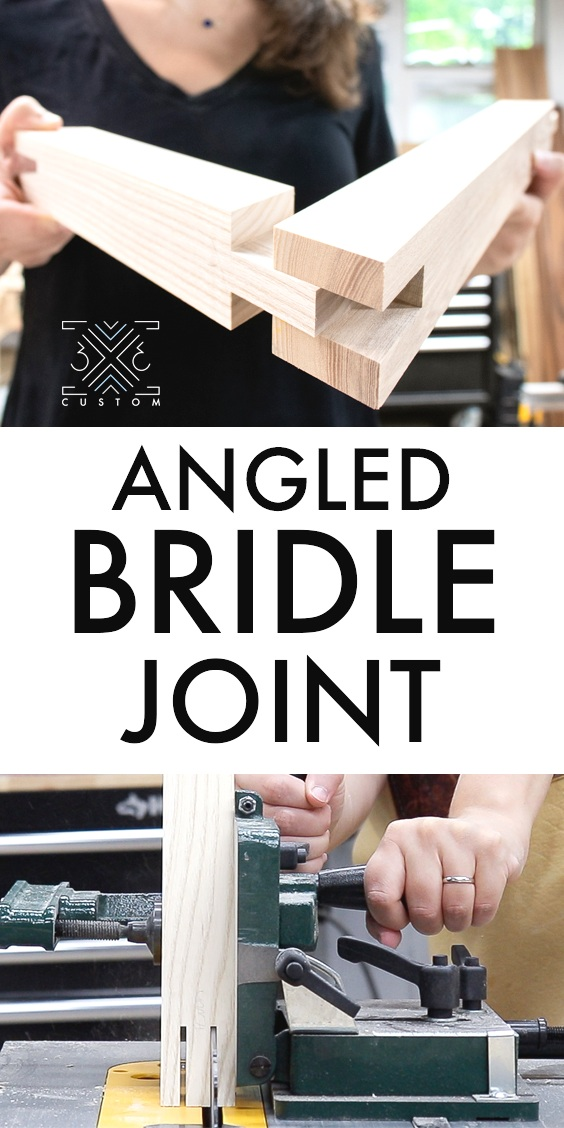 How to cut Angled Bridle Joints