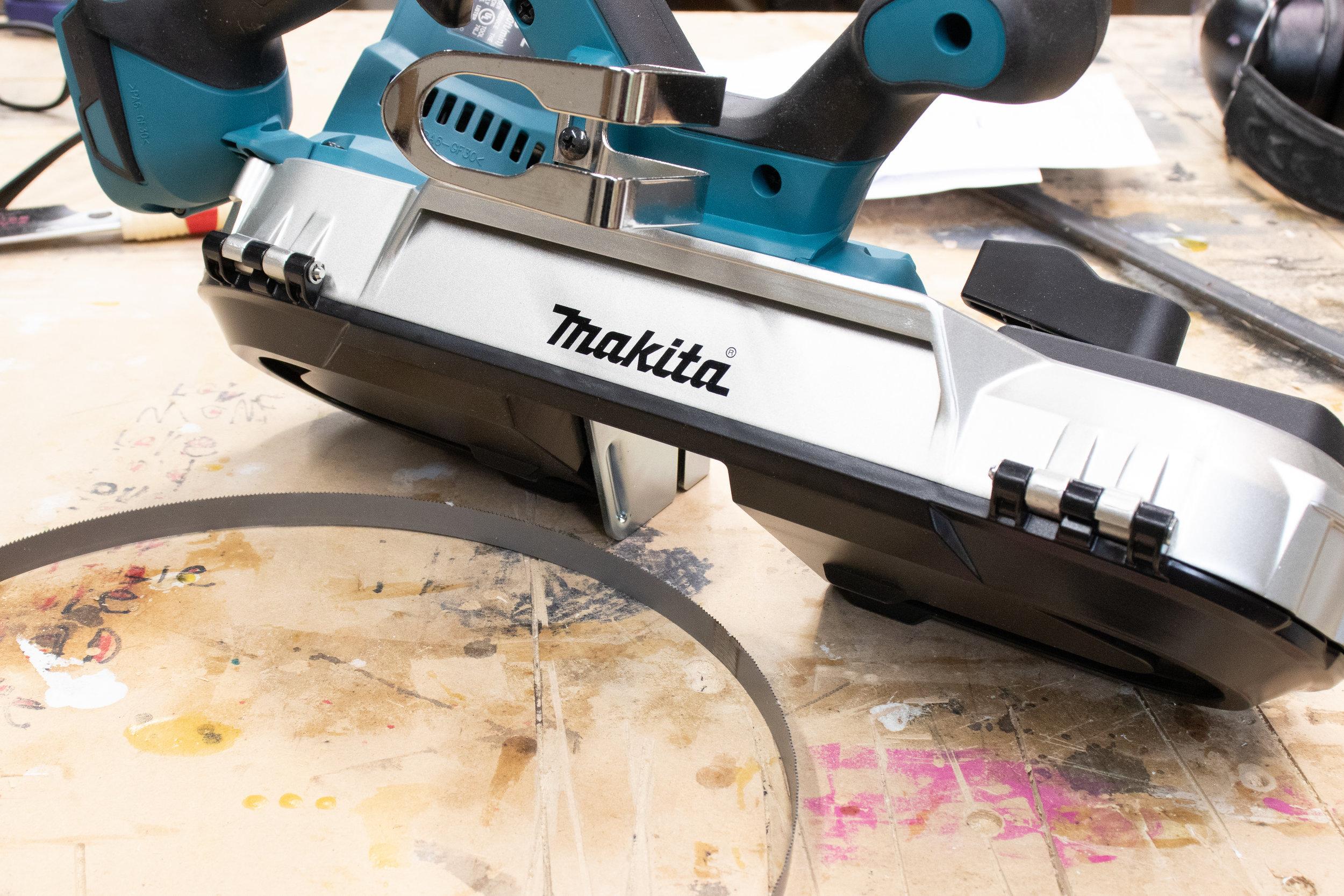 Makita Cordless Compact Bandsaw