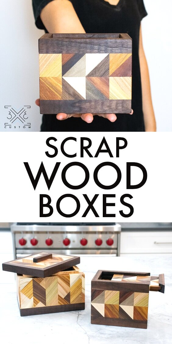 Scrap Wood Boxes