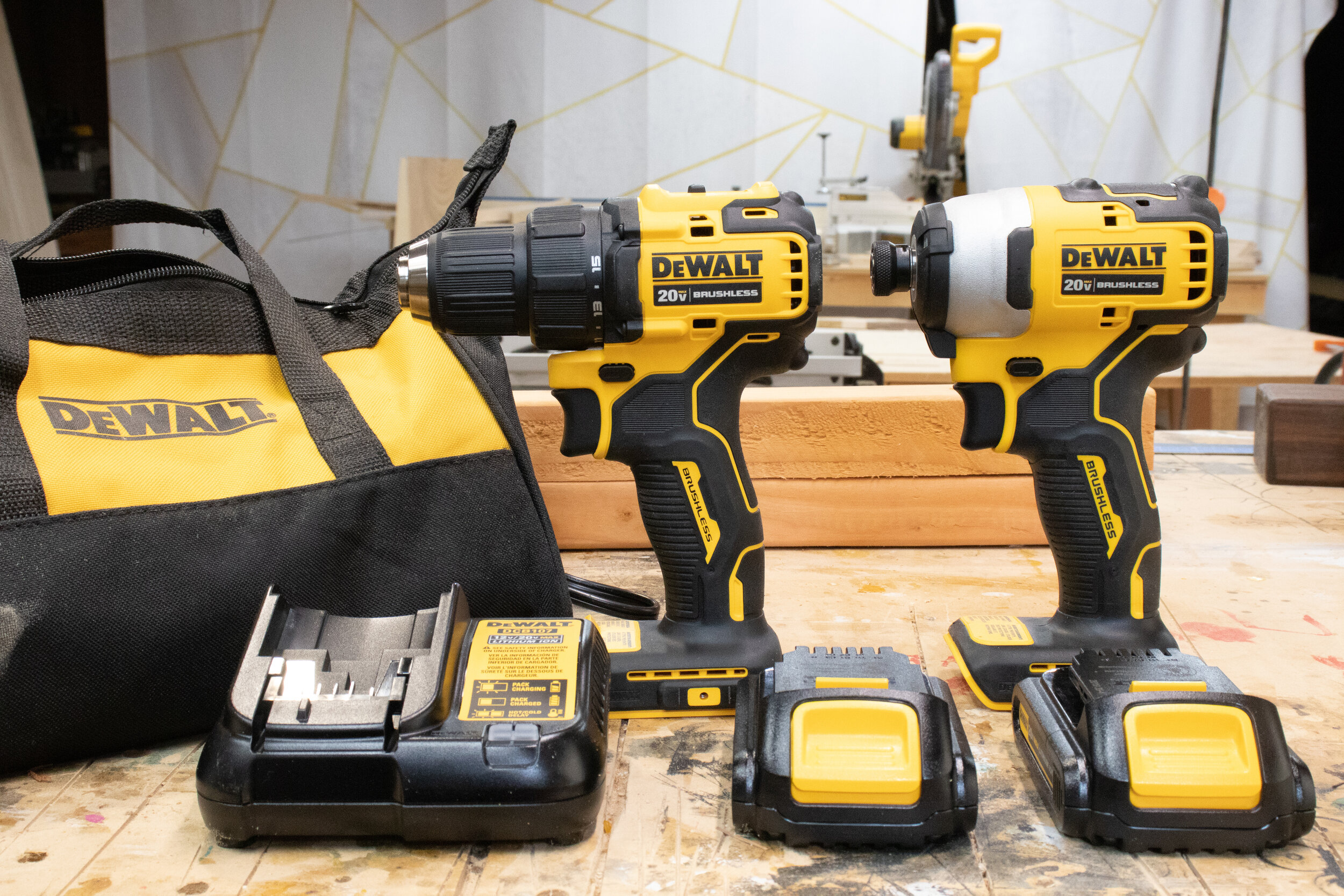 New Drill Drivers and Impact Wrenches — 3x3 Custom