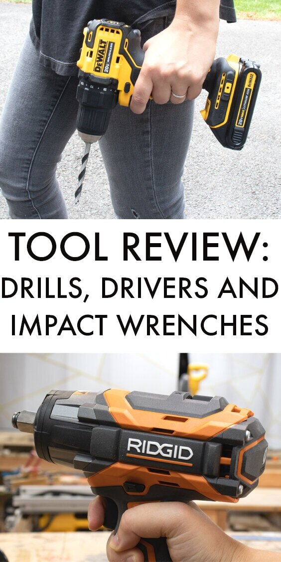 tool review drills