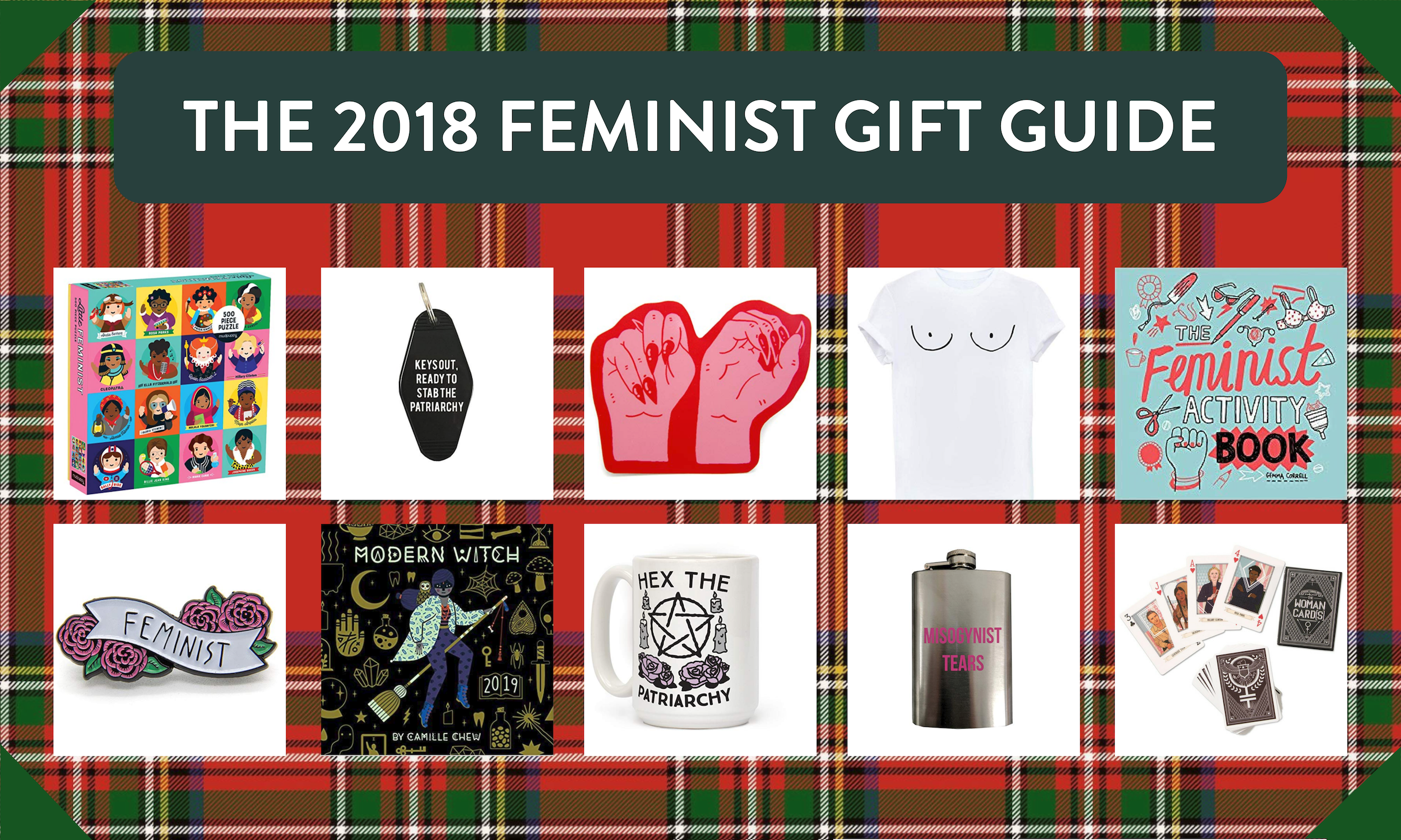 feminist holiday gift ideas, feminist christmas gifts