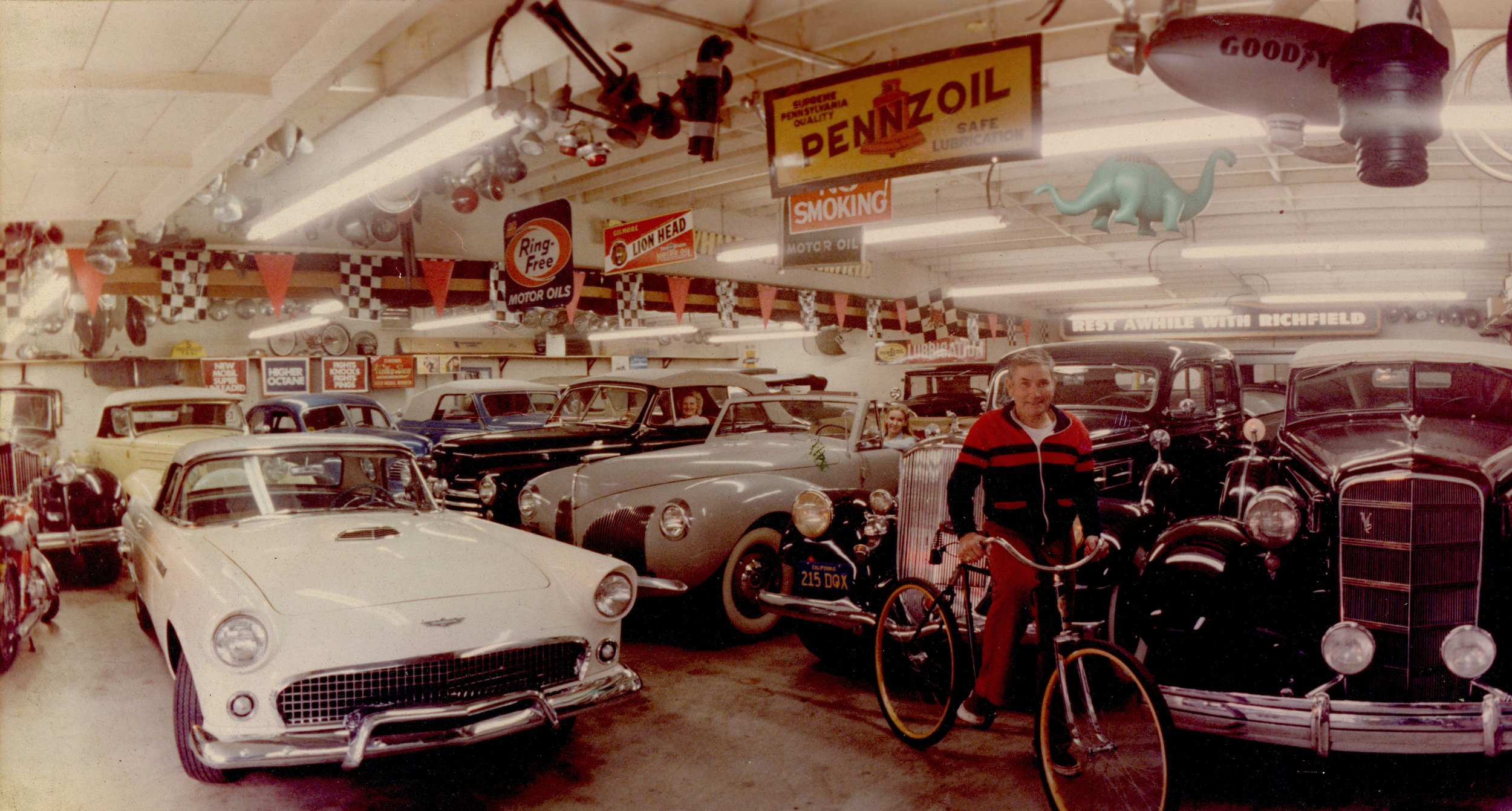 The Sparks Family in the Big Garage - Early 1980's
