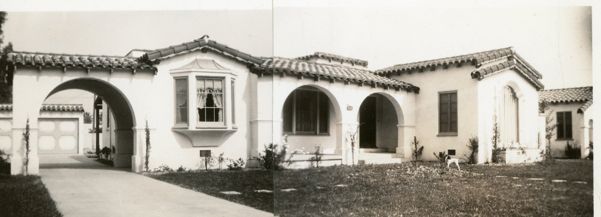 "1936 - The Newly Built ""Roadster House"""