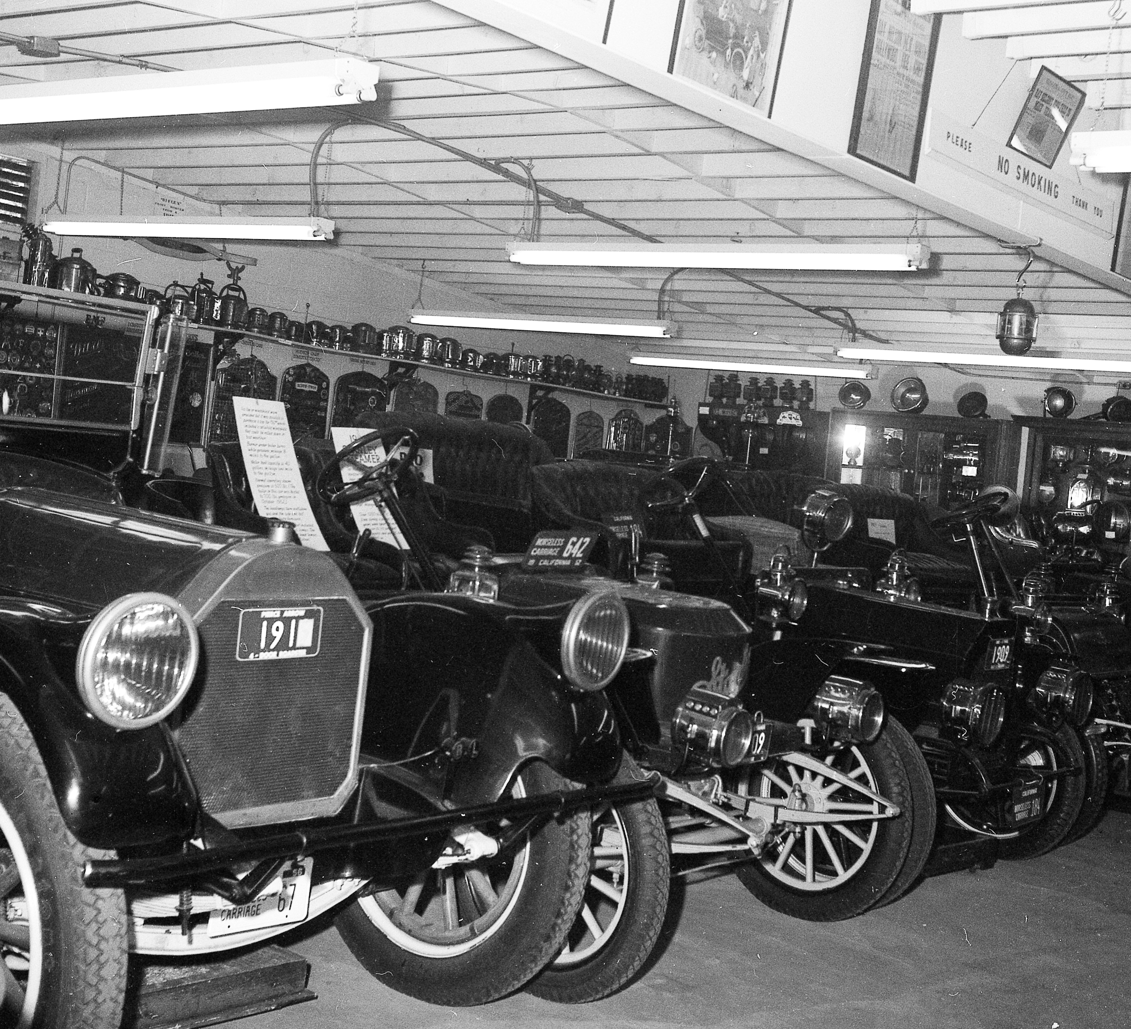 1957 - Ray Nelson's Car Collection in the Big Garage