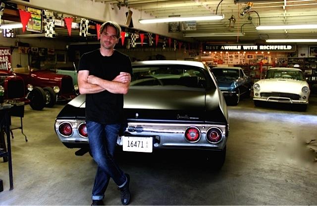 Third owner in the Big Garage.