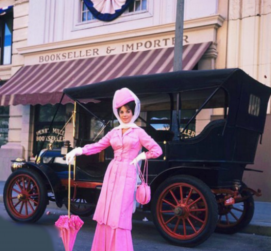Natalie Wood with Ray Nelson's Car