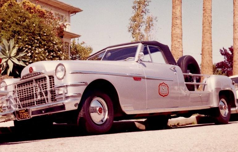 Lucille Ball's Camera Car