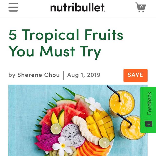 🏖 As a kid, I used to spend my summer breaks in Taiwan 🇹🇼 where I tried tropical fruits like lychee and dragonfruit for the first time. I'll never forget the amazing flavors these fruits bring. It's something I continue to look forward to every time summer comes around.   🏝 I wrote about 5 tropical fruits you must try @nutribullet (link in bio) take your summer to the next level 😋   ⚡️what's your favorite?       #plantbased #foodlover #vegan #veganfood #heresmyfood #f52grams #food #plantbasedrd #plantbaseddietitian #culinarynutrition #foodlover  #foods4thought #whatveganseat #plantbaseddiet #guthealth #phytonutrients #planethealth  #antioxidants #plantbasedleaders #planetaryhealth #planetarydiet #tropicalfruit