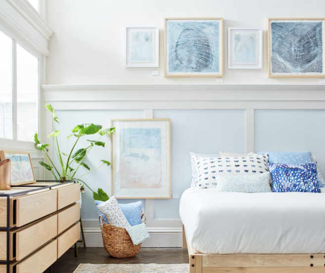Contemporary Coastal Style Bedroom Batch