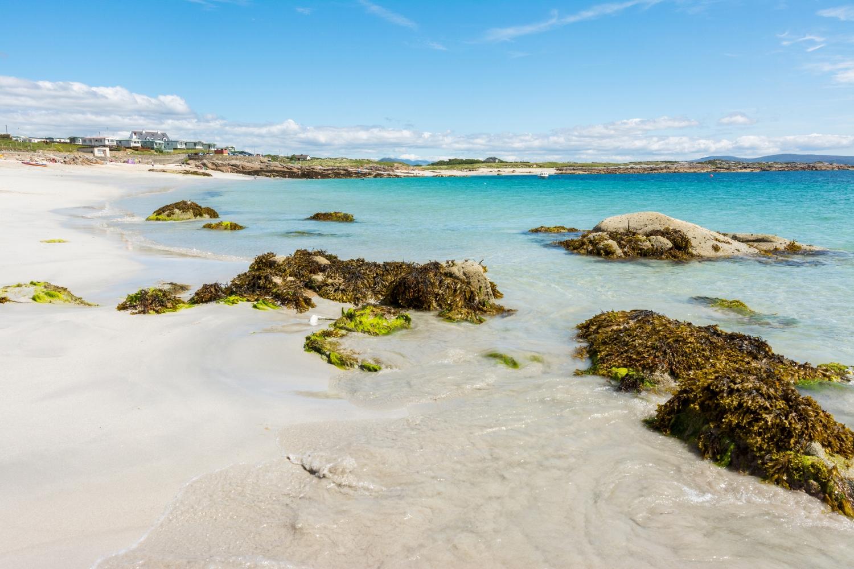 White Sandy Beach in Ireland