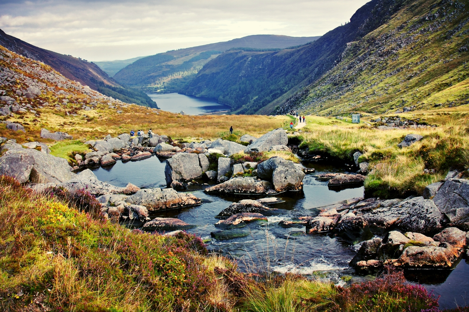 Hiking Options - Glendalough Lake Walk, County Wicklow