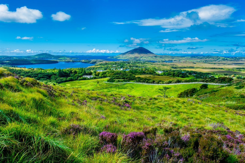 Hiking Options - The Famine Walk in Conemarra |Diamond Hill Loop Walk |Cliffs of Moher Coastal Walk