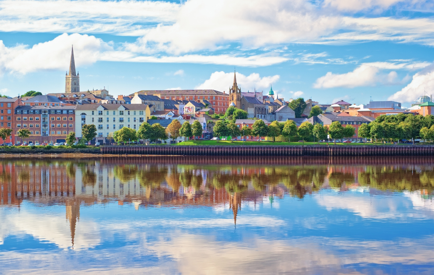The Walled City of Derry - Northern Irelands' second largest city, formerly