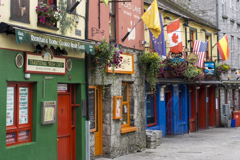 Quay Street Galway, Ireland