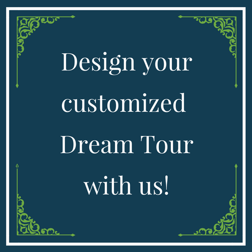Design your customized Dream Tour with us!